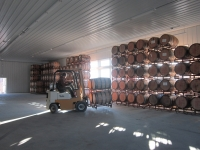 Barrels in New Warehouse 3