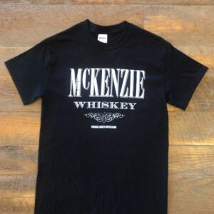 black whiskey tee
